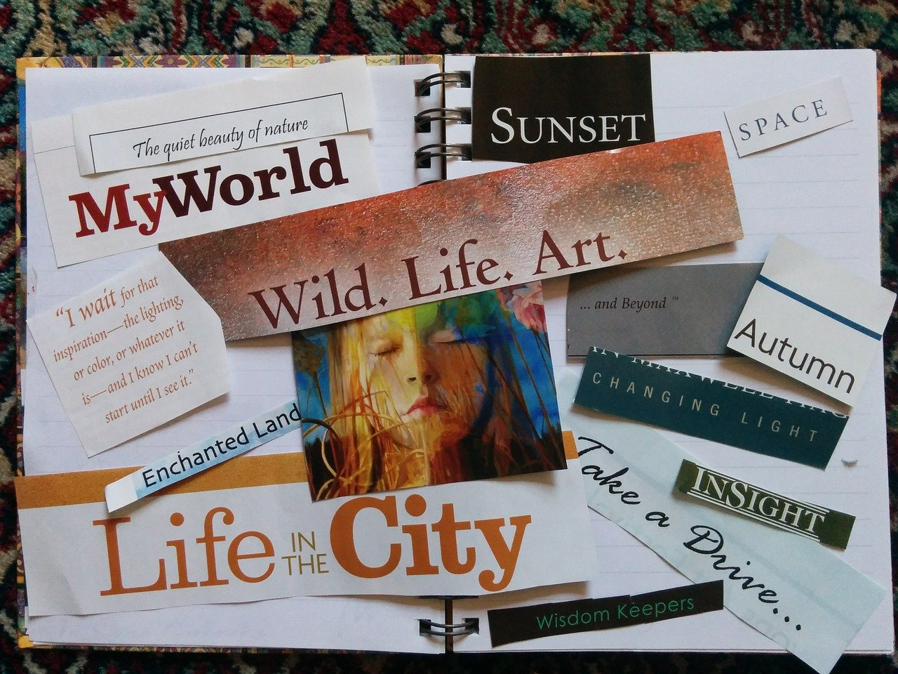 Example of vision board